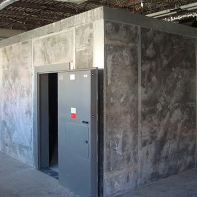 Modular concrete vault versatile secure vault for Vault room construction